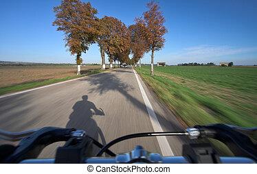 乗馬, 自転車