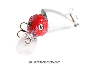 Fishing lure - Small fishing lure existing of two parts