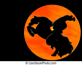 Sleepy Hollow - Headless horseman from Sleepy Hollow fame