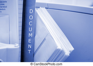 Office environment  - Background business image in mono