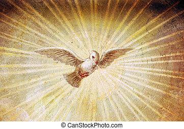 Religious painting - A religious renaissance italian...