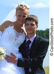 Pair - Bride & bridegroom togrther