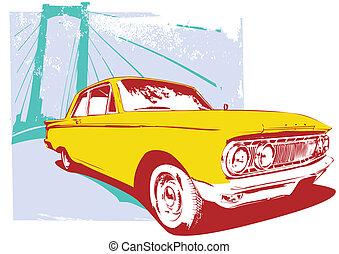 retro, 汽車