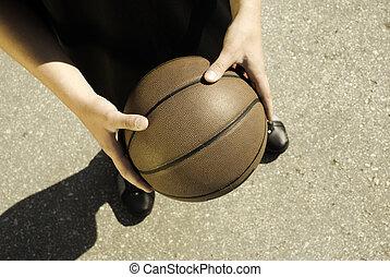 basketball on the street