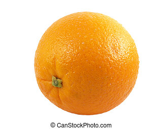 orange - a close-up on a orange