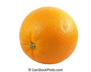 orange - a close-up on a orange