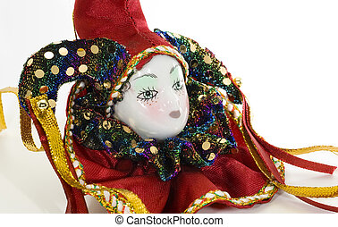 Court Jester - Photo of Porcelian Court Jester