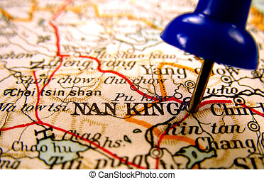 Nanjing, China - Nanjing, one of Chinas biggest cities, the...