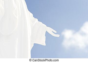 mão, Deus