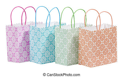 Bags - Photo of Various Color Shopping Bags - Gift Bags