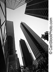 Towers - Modern inner city architecture
