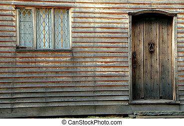 Vintage Door and Window