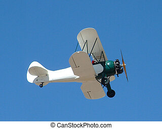 Biplane - photo taken at the Cactus Fly-in near Casa Grande,...