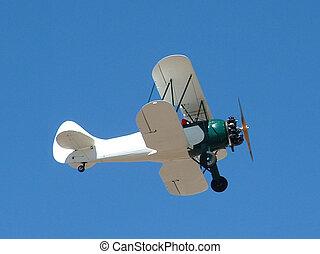 Biplane - photo taken at the Cactus Fly-in near Casa Grande,...