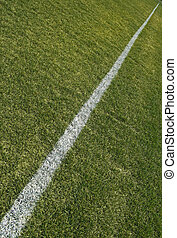 Boundary of playing field - Boundary line of a...