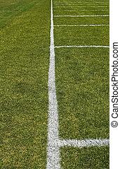 Football playing field