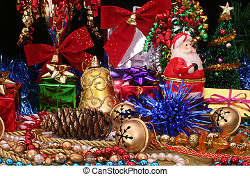 Christmas Display - Christmas Decorations With Gifts,...