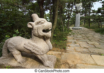 Guardian Fu Dog II - Guardian Fu dog in Jiangsu Province