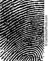 FingerPrint Crop 6 - Low Poly Count