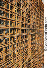 Reinforcing Mesh - Metal reinforcing mesh used in the...