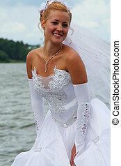 Bride - bride on the nature
