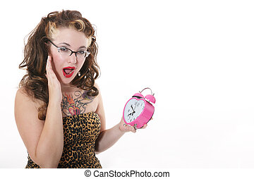 Look at the Time! - A fifties meets alternative girl...
