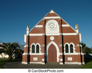 Methodist Church - A Red Brick Methodist Church