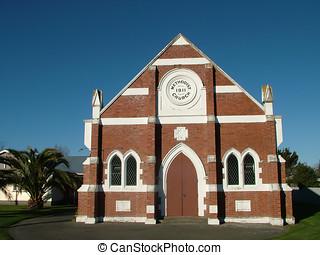 Methodist Church - A Red Brick Methodist Church
