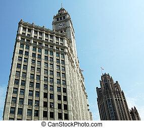 Art Deco Building - Picture of a vintage Art Deco Building...