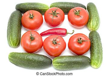 蔬菜, 生活, 仍然
