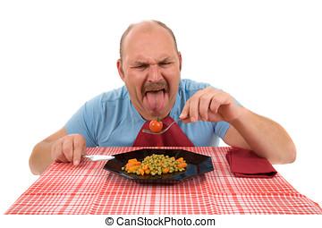 Légumes, dégoûtant