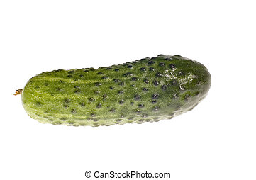 cucumber on white - series object on white - food -...