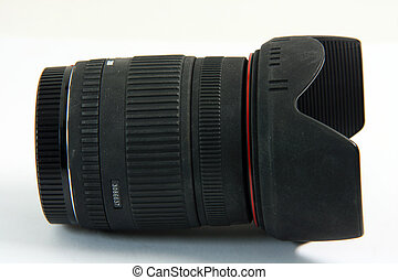lense - photo zoom lense stilife isolated