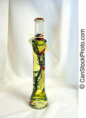 oil and vinegar - glass bottled oil vinegar