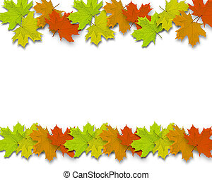 Autum Background leaves - Autum Background with colorful...