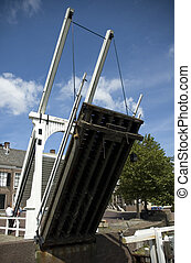 Lift Bridge - Lift bridge in Goes, Zeeland, Netherlands The...