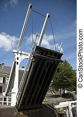 Lift Bridge - Lift bridge in Goes, Zeeland, Netherlands. The...