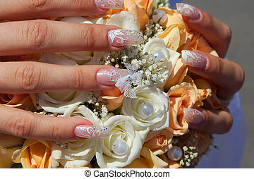 Wedding bouquet - Secret secrets are contained in itself...