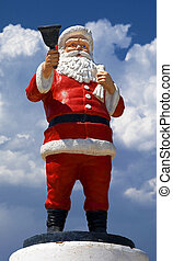 Santa Claus - Monument of Santa Claus in Demre city from...
