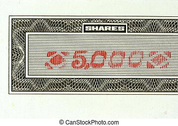 5000 shares