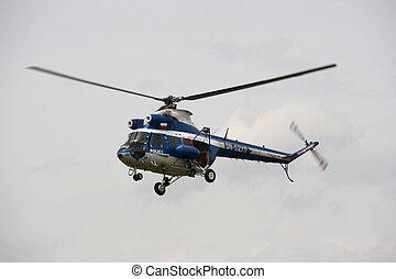 Police helicopter - Malopolski Piknik Lotniczy Air Show 2007...