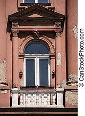 Old city window