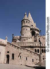 Budapest landmark - Famous landmark in Budapest - Fishermens...