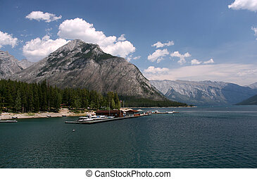 Banff National Park - Lake Minnewanka in Banff National...