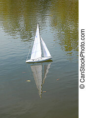 Little sailboat