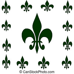 Fleur-De-Lis - Art Illustration using Photoshop
