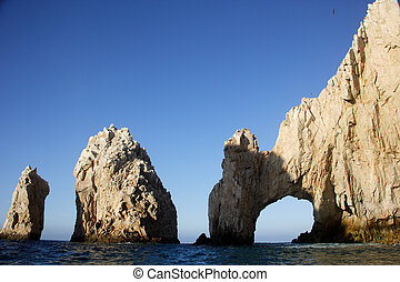 coast - the arch of Cabo San Lucas, Baja California Sur,...