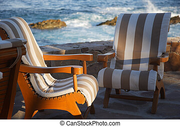 chairs - rest in Los Cabos, Baja California Sur, Mexico