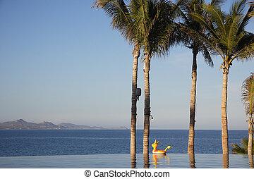 pool in Los Cabos, Baja California Sur, Mexico
