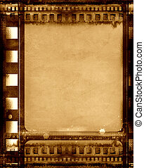 Grunge film frame - Computer designed highly detailed grunge...